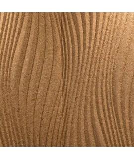 Pannello murale in sughero 3D Waves
