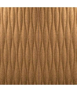 Pannello in sughero da rivestimento 3D Dunes