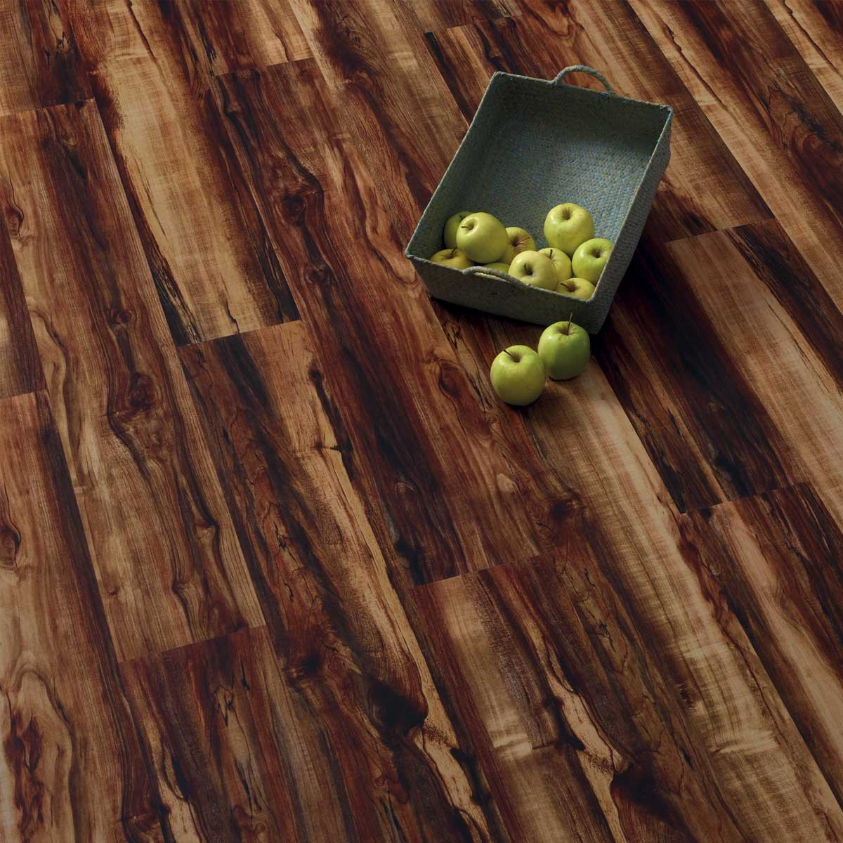 Pavimento in sughero effetto legno Thyme Dark