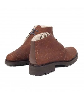 Polacchino in sughero marrone Desert Boot