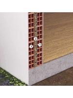 Isolamento intercapedine parete esterna con sughero