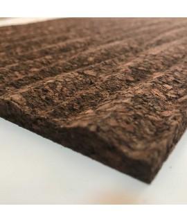 Pannello in sughero da rivestimento 3D Dunes Brown