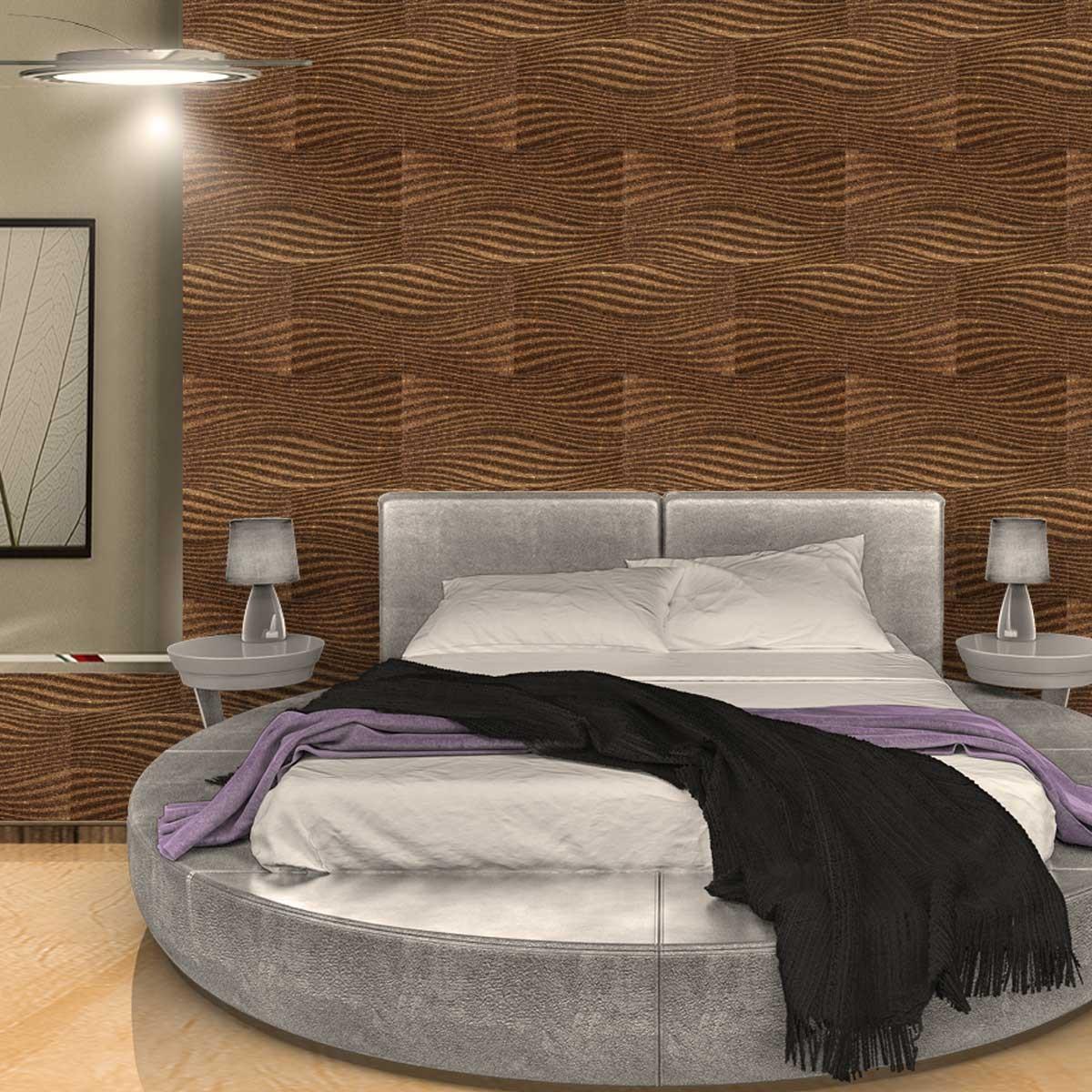 Pannelli decorativi 3d per pareti e soffitti - Parete di sughero ...