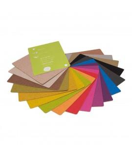 Rivestimento in sughero Colors - Marrone Castagna