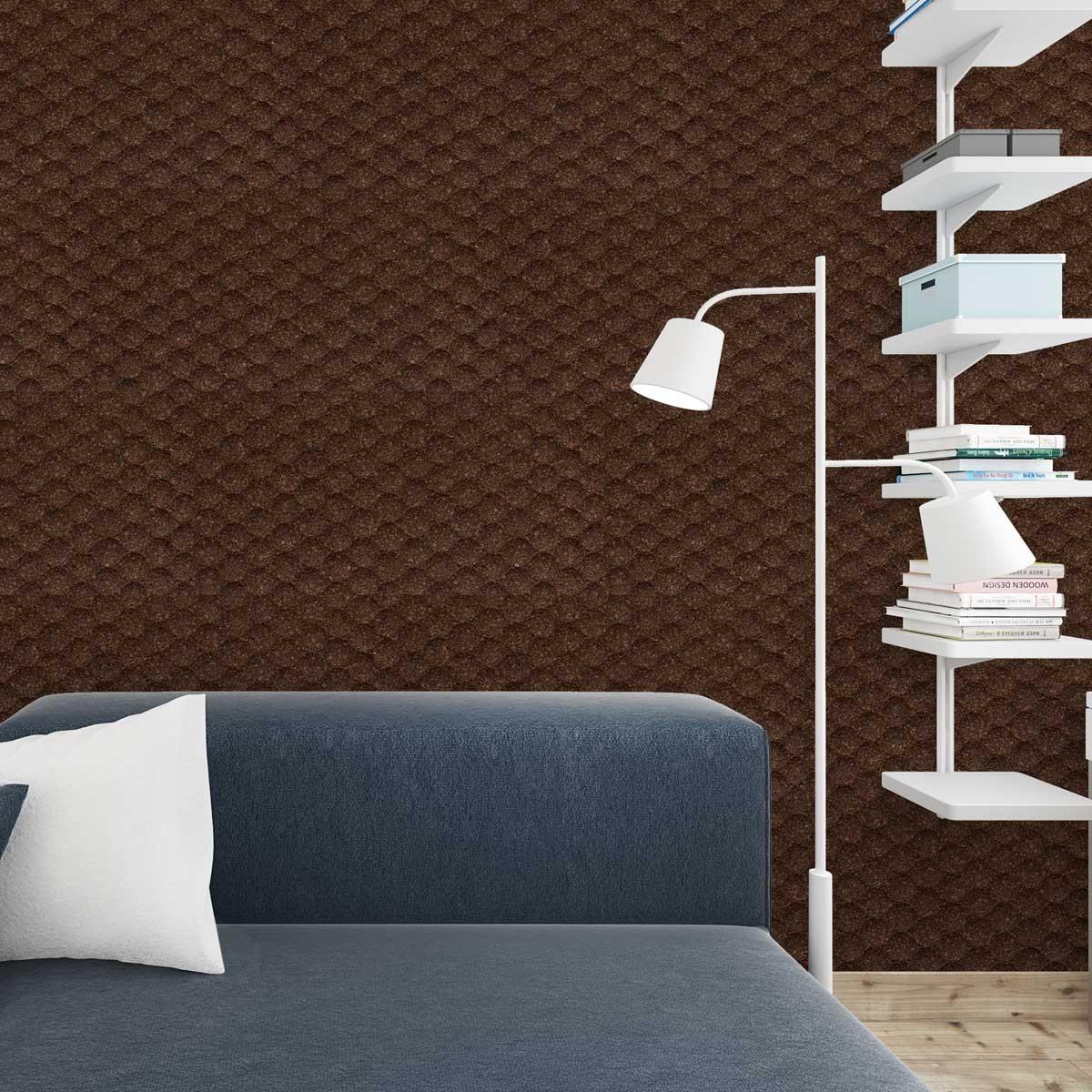 Rivestimento naturale fonoassorbente 3d pareti in sughero decorativo - Rivestimento decorativo pareti ...