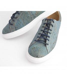 Sneakers in sughero Azul
