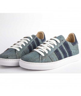 Sneakers in sughero Azul M2