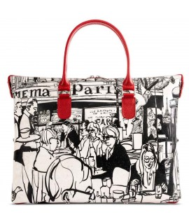 Borsa in sughero marrone Paris