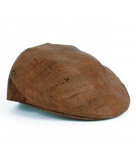 Cappello modello coppola in sughero marrone Antelos