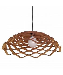 Lampadario design in sughero Lugh