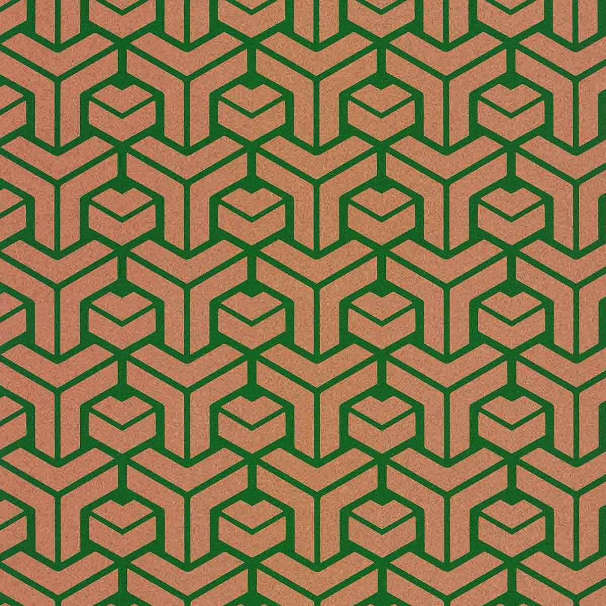 Decorative cork thin paper Disconnect 06