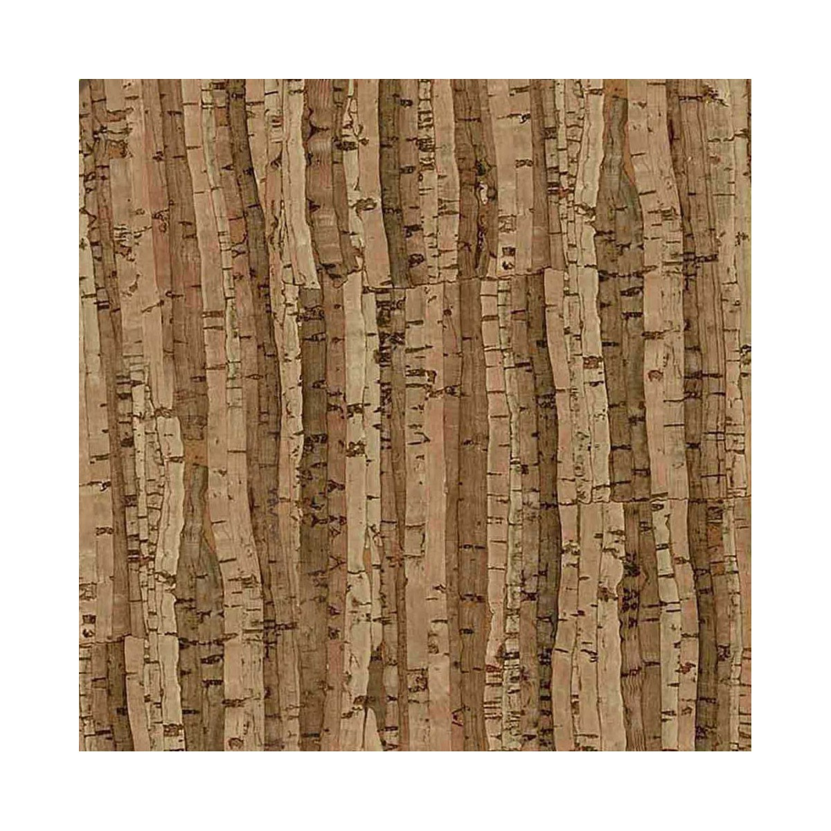 Decorative cork thin paper thickness 0,5 mm