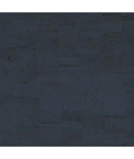 Tessuto Natural in sughero colore blu