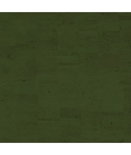 Tessuto in sughero natural colore verde