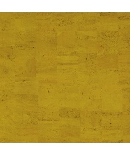 Cork fabric Natural Coloured - Pear Yellow