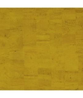 Tessuto Natural in sughero colore giallo