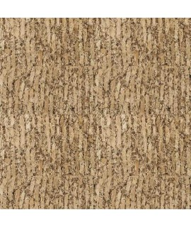 Cork fabric Natural Cocoa