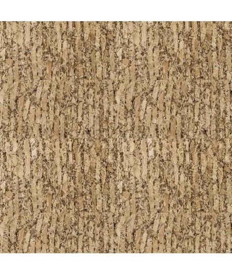 Cork fabric Natural Cocoa