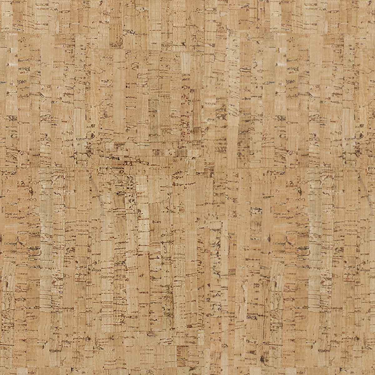 Cork fabric Natural Lemon