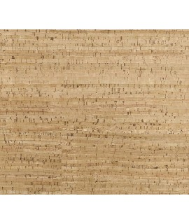 Cork fabric Natural Lime