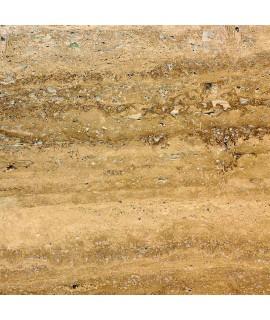 Pavimento in sughero effetto pietra Travertino Classic