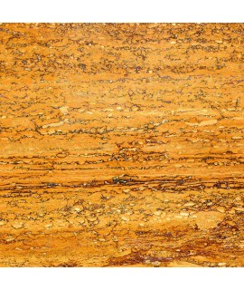 Cork floor Travertino Yellow Gold