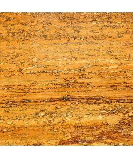 Pavimento in sughero effetto pietra Travertino Yellow Gold