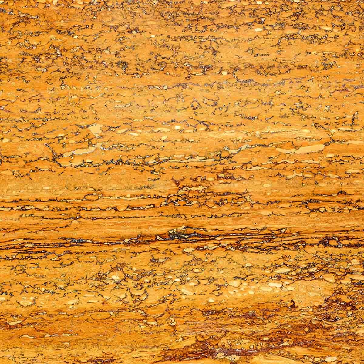 Cork floor Travertino Yellow Gold