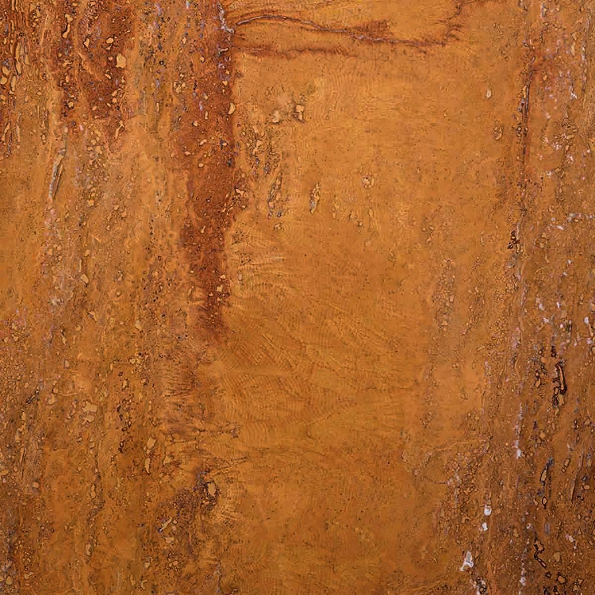 Pavimento in sughero effetto pietra Travertino Yellow