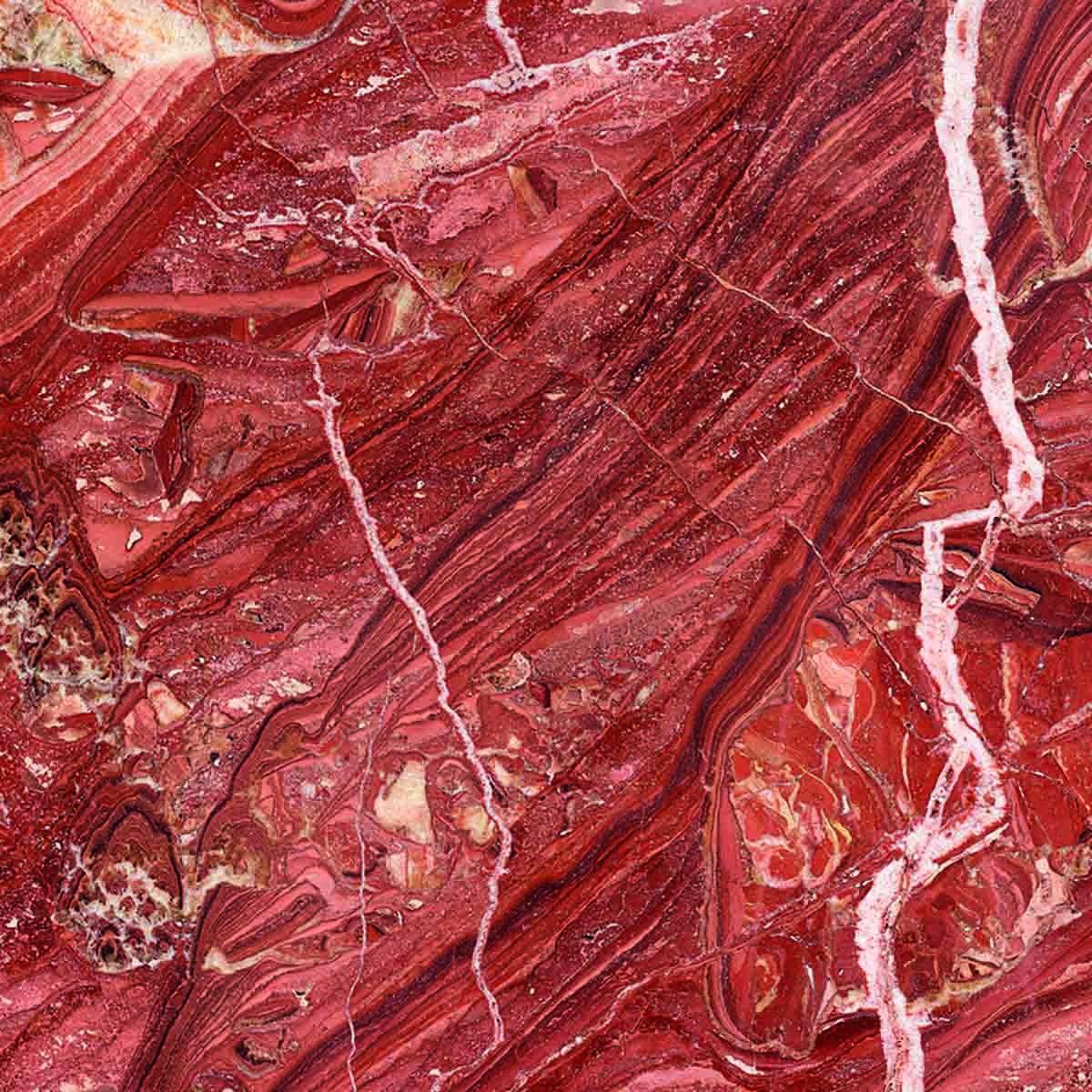 Pavimento in sughero effetto pietra Onice Rosso Iris