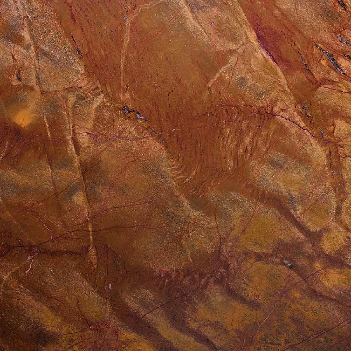 Pavimento in sughero effetto marmo Mouro Brown