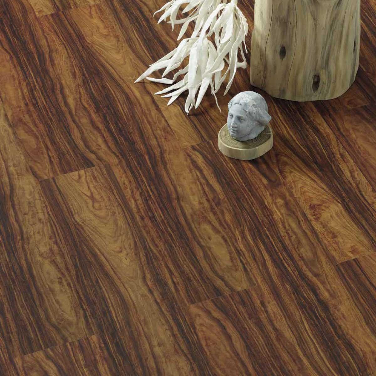 Pavimento in sughero effetto legno Palissandro