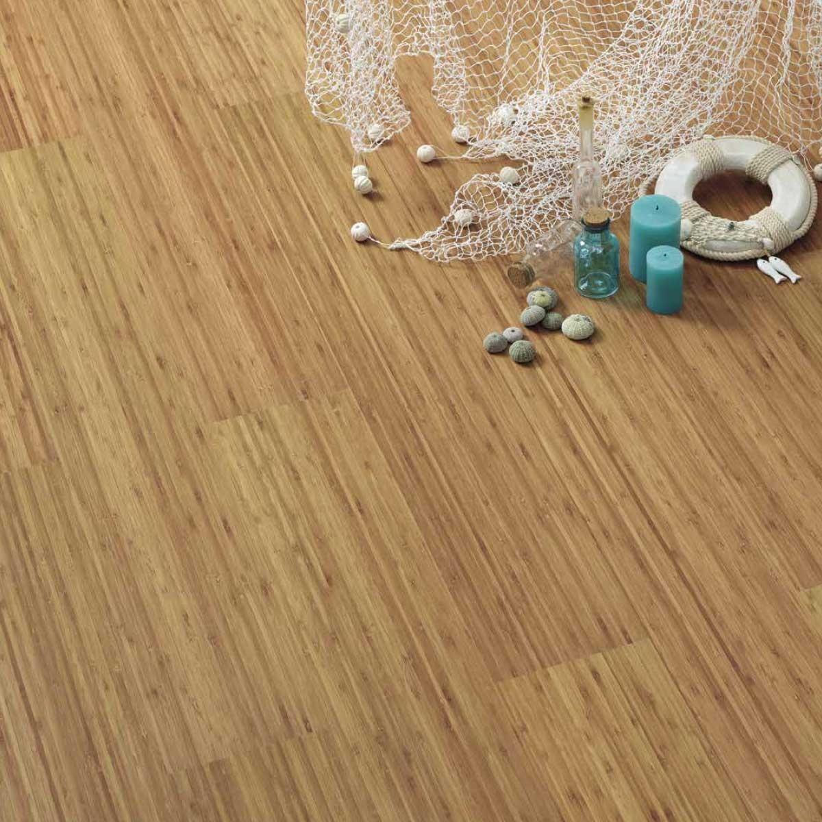Pavimento in sughero effetto legno Bamboo
