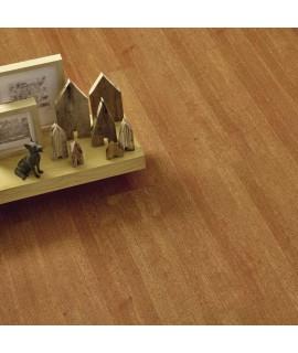 Pavimento in sughero effetto legno Doussie