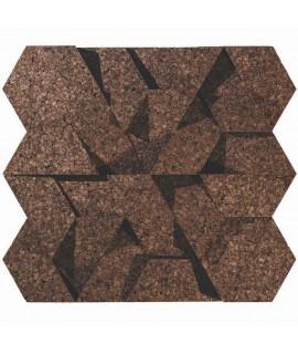 Mattoncino decorativo in sughero 3D Triangle
