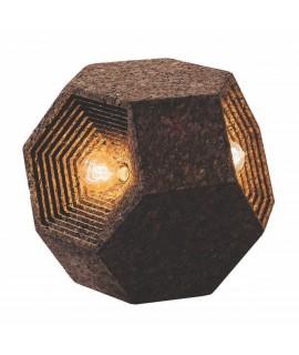 Elemento d'arredo in sughero Ahedron Trilight