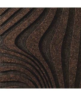 Rivestimento 2D in sughero per pareti e soffitti Wirl