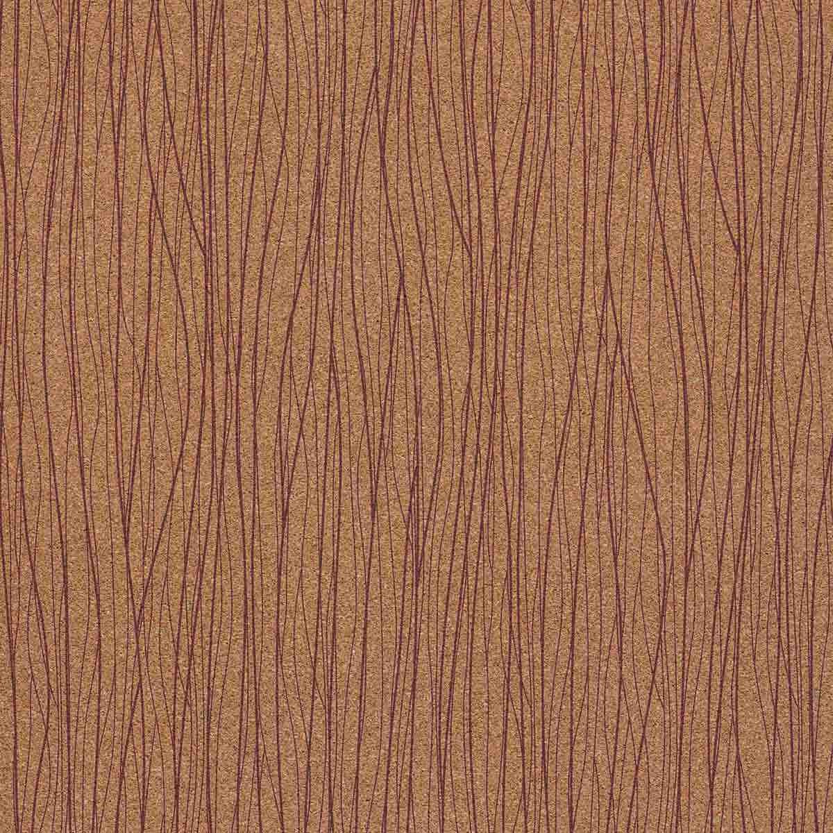 Decorative cork thin paper Connect Radiant Orchid Cork