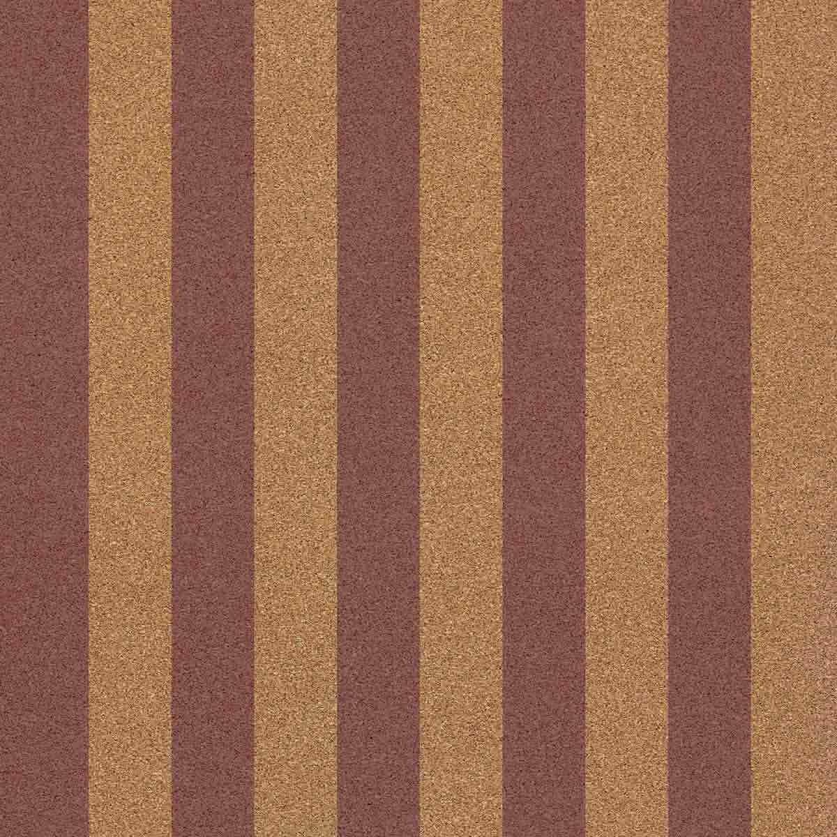 Carta da Parati in Sughero 0,5 mm - Straight Marine African Violet Cork