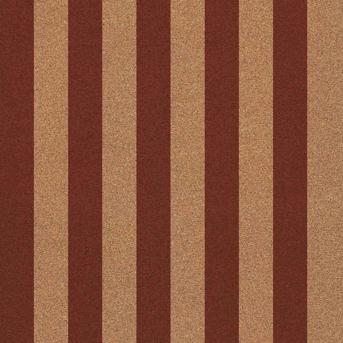Decorative cork thin paper Straight Marine Meca Orange Cork