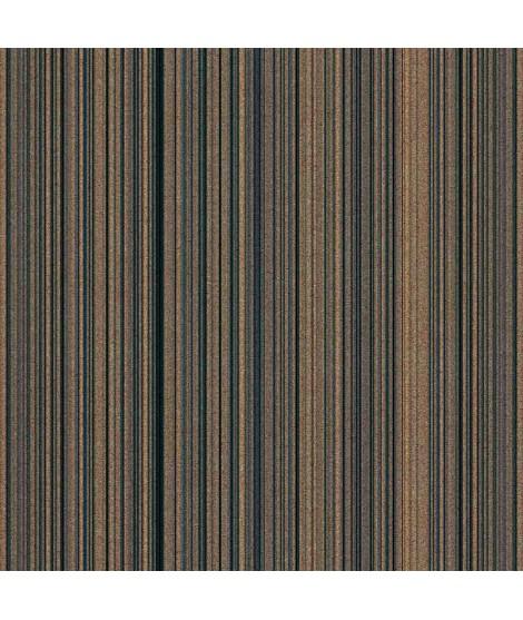 Carta da Parati in Sughero 0,5mm - Straight Monaco Blue Cork