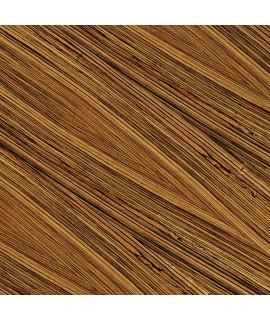 Cork floor Zebrano