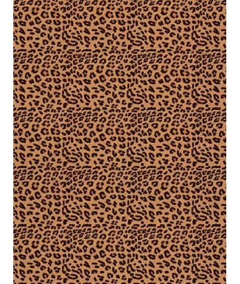 Tessuto in sughero Leopard