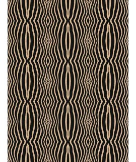 Cork fabric Technical Patterns - Zebra Home