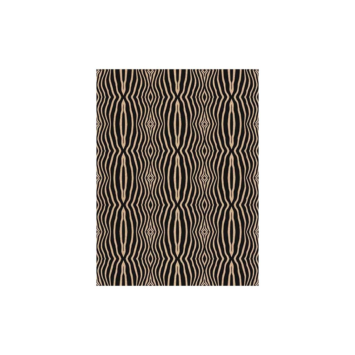 Cork fabric Technical Patterns - Zebra Home