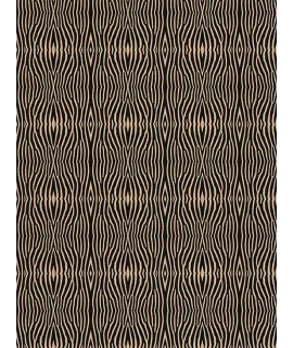 Cork fabric Technical Patterns - Zebra