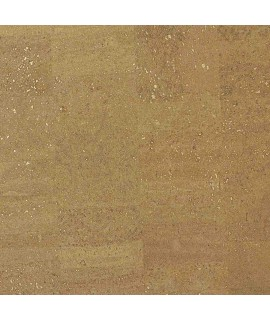 Cork fabric Natural Coloured - Pear Gold