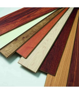 Cork floor Thyme Dark wood effect