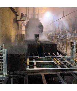 Produzione blocchi per cappotto in sughero espanso BioPan