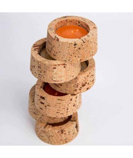 Velas - Candele in sughero naturale tonde